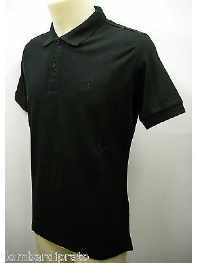 Polo t-shirt maglietta uomo GIANFRANCO FERRE' a.PLO34011 T.46 col.002 nero black