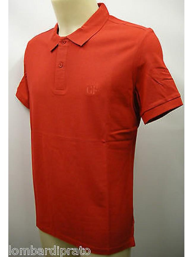 Polo t-shirt maglietta uomo GIANFRANCO FERRE' a.PLO34011 T.50 col.006 rosso red