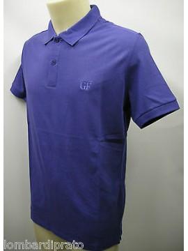Polo t-shirt maglietta uomo GIANFRANCO FERRE' art.PLO34011 T.46 col.004 bluette