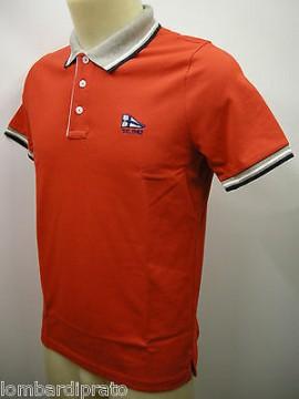 Polo t-shirt maglietta uomo sweater man FERRANTE a.I35602 T.52 col.006 rosso red