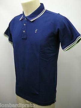 Polo t-shirt maglietta uomo sweater man FERRANTE art.I35601 T.46 col.080 blu