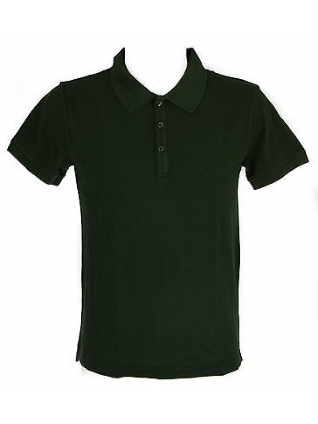 Polo t-shirt uomo EMPORIO ARMANI a.211047 5P466 T.48/M col.10085 FOREST