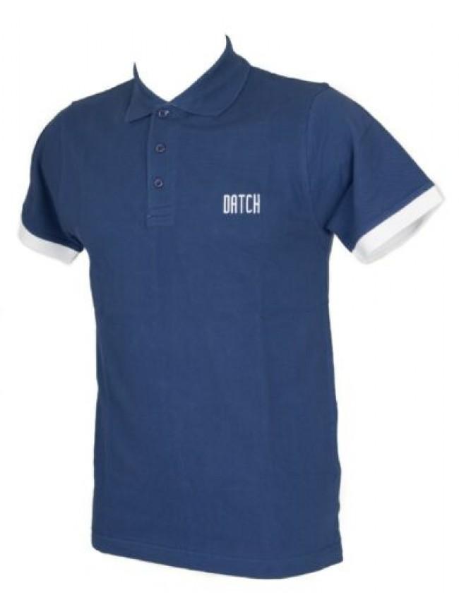 Polo t-shirt uomo maglietta manica corta cotone DATCH articolo BU8008
