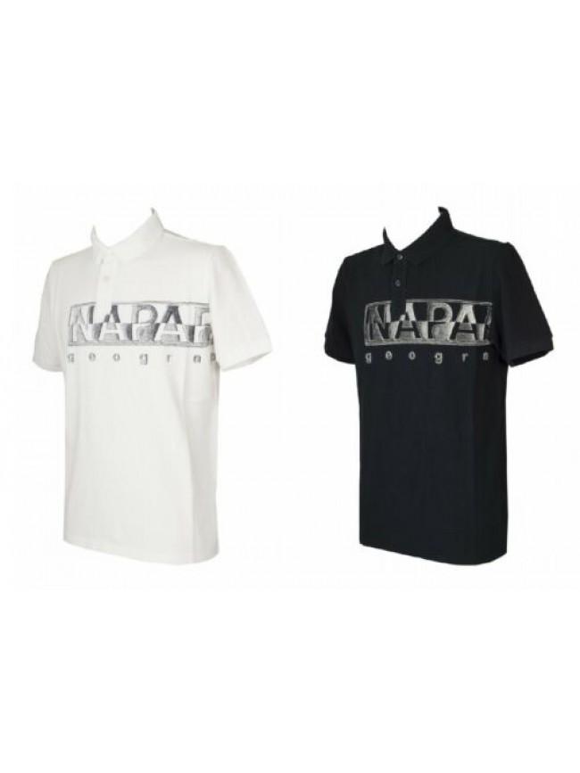 Polo uomo t-shirt manica corta maglietta cotone NAPAPIJRI articolo NP0A4FA4  EAL