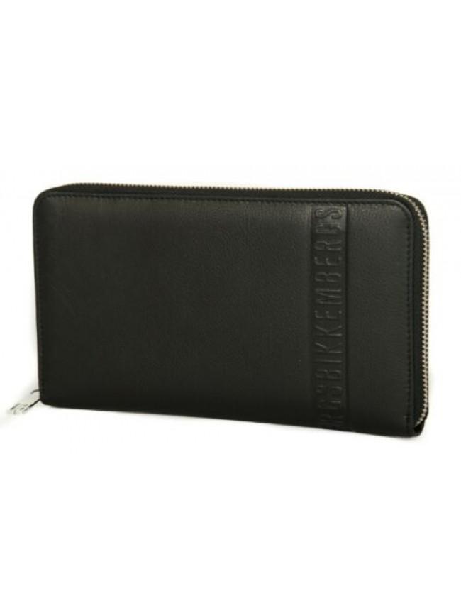 Portadocumenti portafoglio uomo pelle BIKKEMBERGS articolo 7ADD3713 DB-WALLET ST
