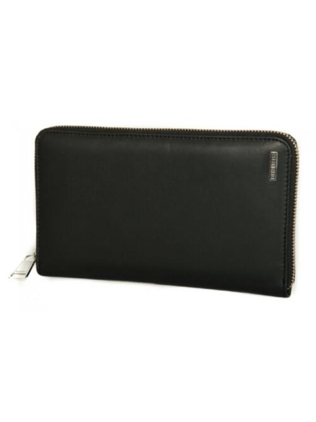 Portadocumenti portafoglio uomo pelle BIKKEMBERGS articolo 7BDD9110 DB-METAL PLA