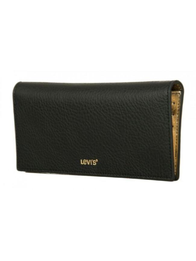 Portafoglio donna LEVI'S articolo 231094 annie long wallet pu - cm.19,5x9