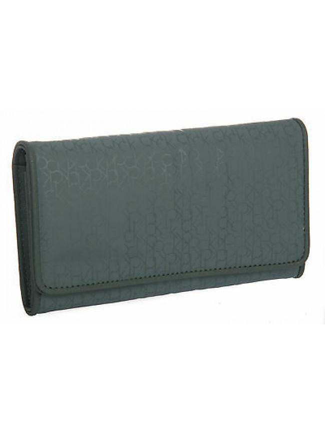 Portafoglio donna wallet CK CALVIN KLEIN art.KRA105 col.677 VERDE