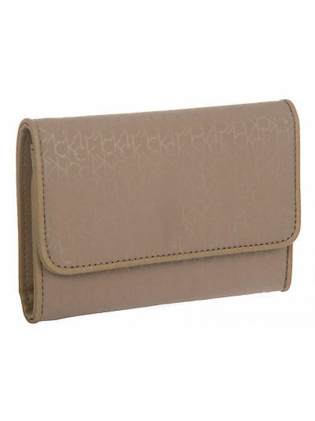 Portafoglio donna wallet CK CALVIN KLEIN art.KRA107 col.0E9 CORDA