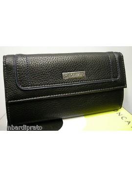 Portafoglio donna wallet woman RONCATO art.735 galaz col.nero black