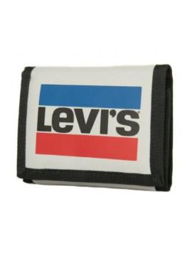 Portafoglio in tessuto con apertura a strappo LEVI'S articolo 227925
