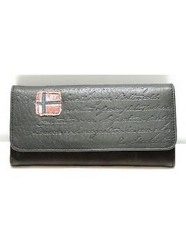 Portafoglio pelle donna NAPAPIJRI alexandra wallet 3ANN2U01 col.041 nero black