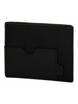 Portafoglio pelle uomo man wallet PIQUADRO articolo PU1241S73 colore N NERO BLA