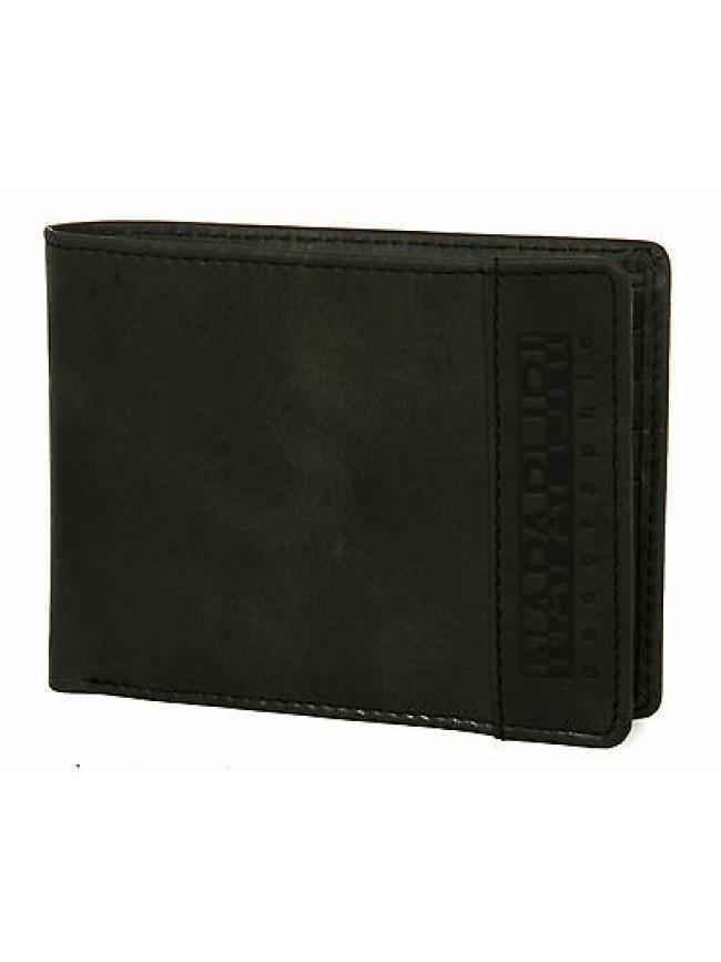 Portafoglio pelle uomo wallet NAPAPIJRI art. 4DNN6Z05 colore 041 NERO BLACK