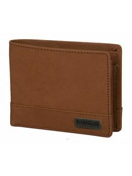 Portafoglio pelle uomo wallet NAPAPIJRI art. 4DNN7H02 colore I28 COGNAC