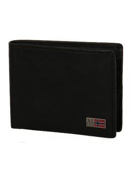 Portafoglio pelle uomo wallet NAPAPIJRI art. N4U04 colore 041 NERO BLACK