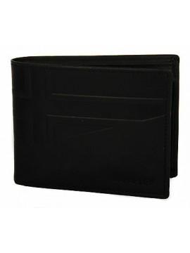 Portafoglio pelle uomo wallet NAPAPIJRI art. N8F09 HIKE colore 041 NERO BLACK