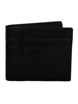 Portafoglio pelle uomo wallet NAPAPIJRI art. N8F10 HIKE colore 041 NERO BLACK