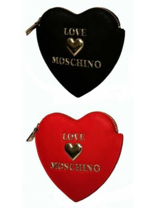 Portafoglio portamonete donna a cuore LOVE MOSCHINO articolo JC5609PP1BLE PORTAF