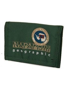 Portafoglio unisex wallet NAPAPIJRI north cape art. 4BNN3Z07 colore G41 LEAF