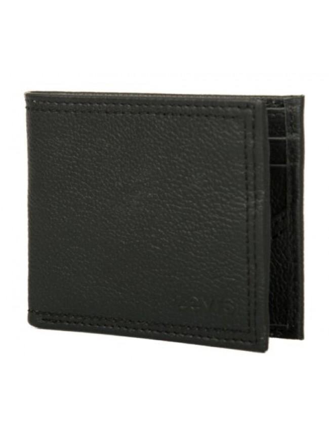 Portafoglio uomo in pelle LEVI'S articolo 227234 leather - cm.11,5x9