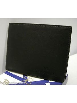 Portafoglio uomo pelle leather wallet RENATO BALESTRA a.22403 col.nero black