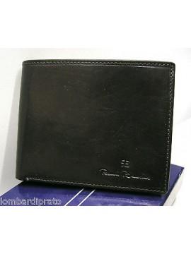 Portafoglio uomo pelle leather wallet RENATO BALESTRA a.224030 col.nero black