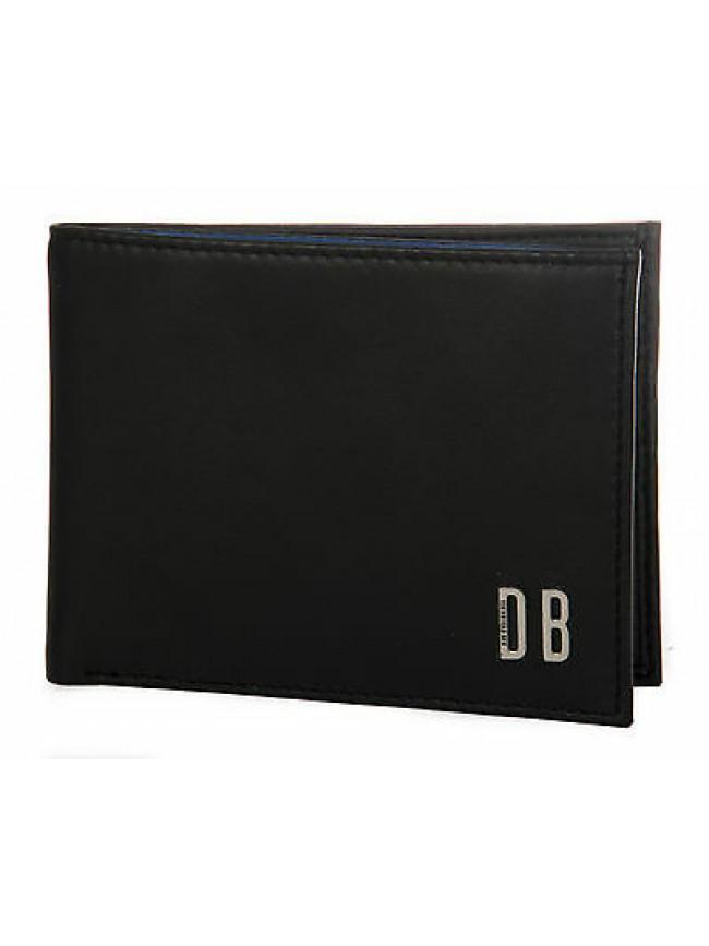 Portafoglio uomo pelle wallet BIKKEMBERGS art. D1511 13x10 col. D01 NERO BLACK