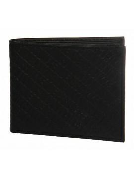 Portafoglio uomo pelle wallet BIKKEMBERGS art. D3606 11,5x9 col. D01 NERO BLACK