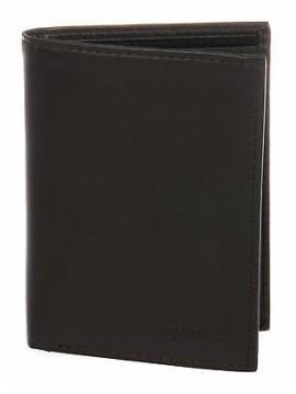 Portafoglio uomo pelle wallet GUESS a.SM0205 LEA51 cm 9,5x10,5 col.MARRONE