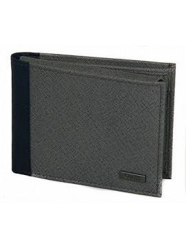 Portafoglio uomo pelle wallet GUESS a.SM3124 LEA24 cm.13x9,5 colore GRIGIO