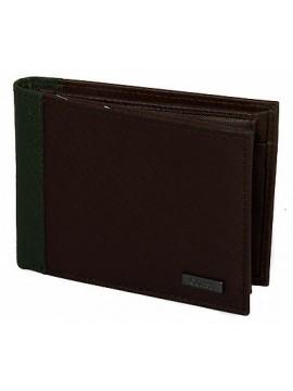 Portafoglio uomo pelle wallet GUESS a.SM3124 LEA24 cm.13x9,5 colore MARRONE
