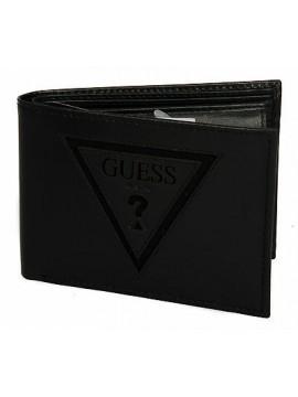 Portafoglio uomo pelle wallet GUESS a.SM3133 LEA20 cm.12,5x9 colore NERO