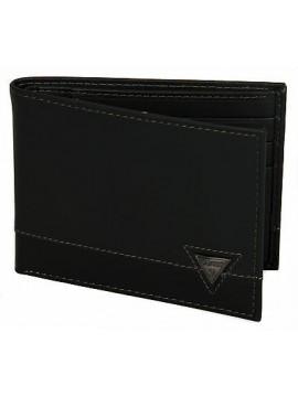 Portafoglio uomo pelle wallet GUESS a.SM3139 LEA27 cm.12,5x9,5 colore NERO