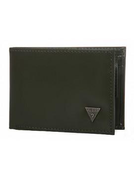 Portafoglio uomo pelle wallet GUESS art. SM3005 cm 12,5x9,5 colore GRIGIO GREY