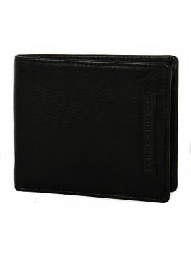Portafoglio uomo pelle wallet TOMMY HILFIGER a. AM0AM01273 colore 002 NERO BLACK