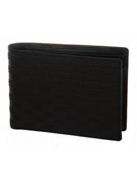 Portafoglio uomo pelle wallet TOMMY HILFIGER art. AM0AM00611 colore 002 NERO