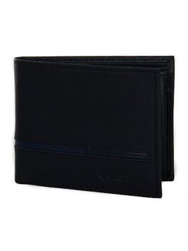 Portafoglio uomo wallet GUESS art. SM3012 LEA20 cm 12x9,5 col. NML NAVY