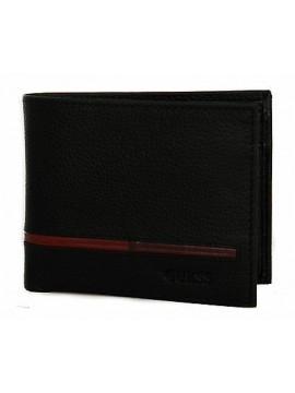 Portafoglio uomo wallet GUESS art. SM3012 LEA20 cm 12x9,5 colore BML NERO BLACK