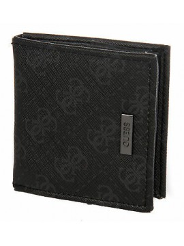 Portamonete borsello uomo wallet GUESS a.SM0206 LEA52 cm 8x8 col.NERO
