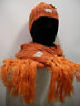 SCIARPA + CAPPELLO ENRICO COVERI SCARF ART.26915 COL.ARANCIO ORANGE