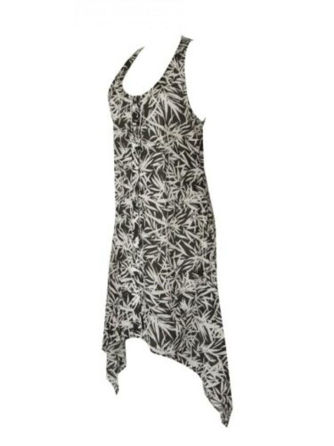 SG Abito donna mare vestito in cotone spalla larga spiaggia beachwear EMPORIO AR