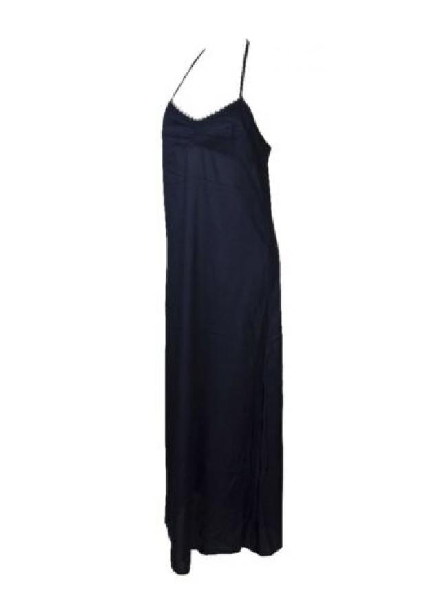 SG Abito donna mare vestito laccio legato al collo spiaggia beachwear EMPORIO AR