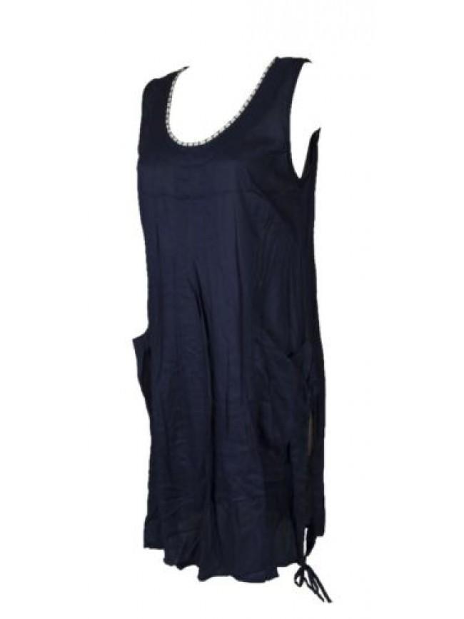 SG Abito donna mare vestito spalla larga spiaggia copricostume beachwear EMPORIO