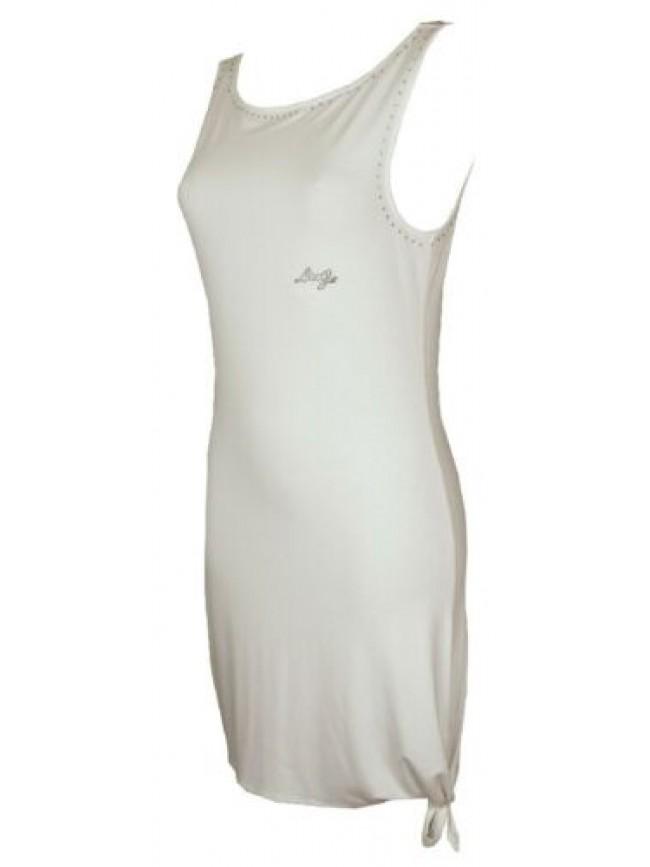 SG Abito donna vestito in jersey di viscosa mare spiaggia beachwear LIU.JO artic