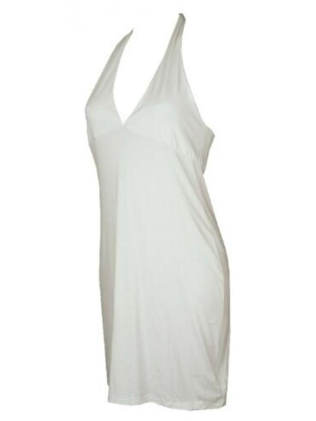 SG Abito in jersey di viscosa vestito donna mare spiaggia beachwear EMPORIO ARMA