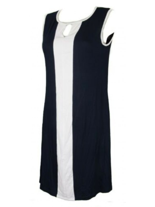 SG Abito senza maniche spalla larga in jersey di viscosa vestito donna RAGNO art