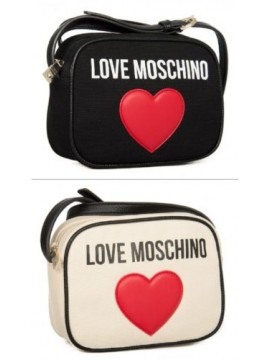 SG Borsa borsetta donna tracolla in tela LOVE MOSCHINO articolo JC4138PP15L3 CAN