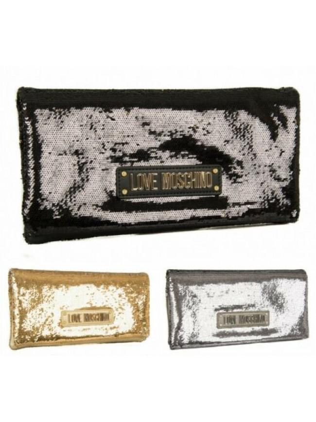 SG Borsa borsetta pochette donna bicolore a mano con tracolla LOVE MOSCHINO arti
