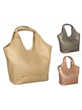 SG Borsa donna a mano o a spalla dotata di borsetta interna con tracolla LOVE MO